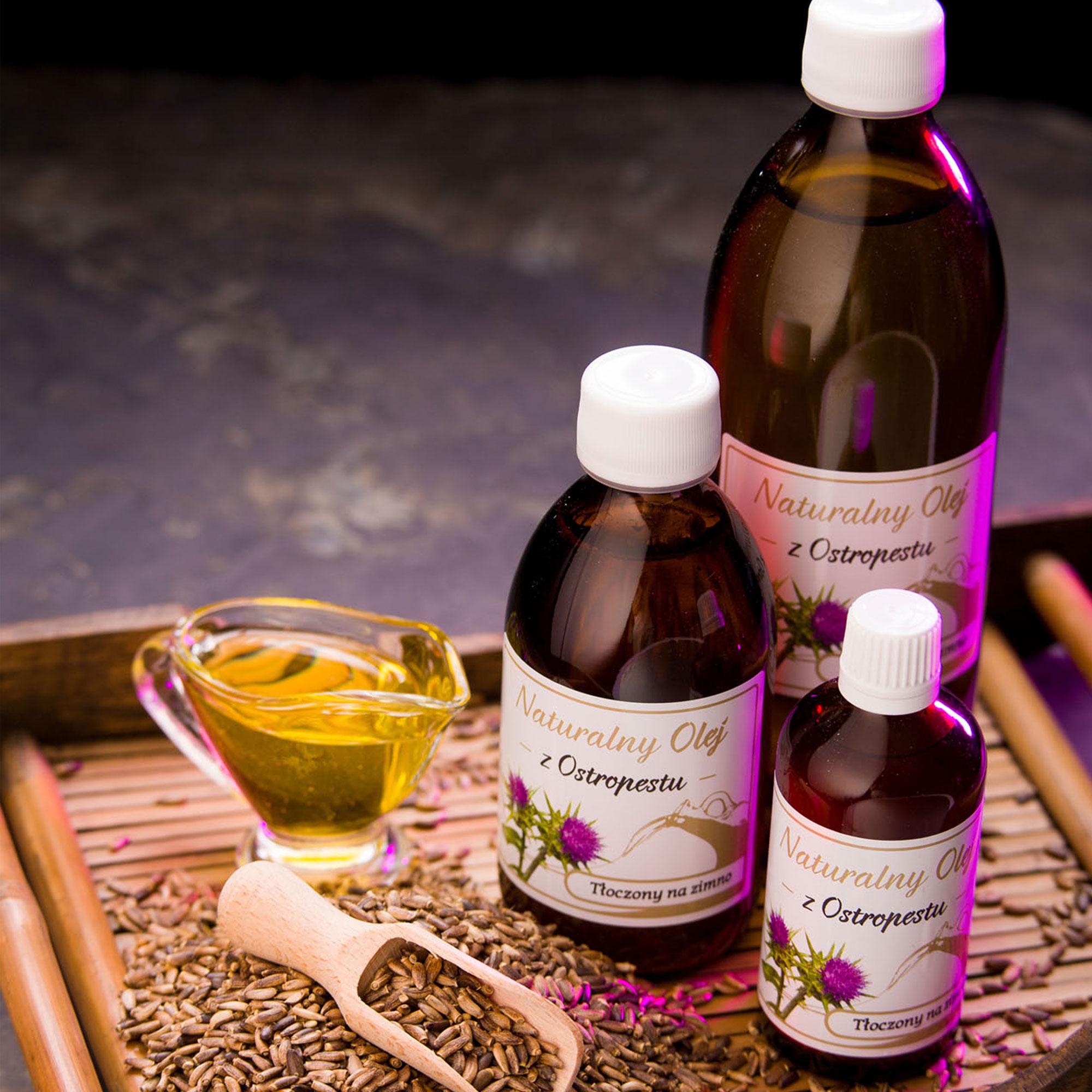 Zdjęcie reklamowe dla Miramar Sp. z o.o. - olej z ostropestu