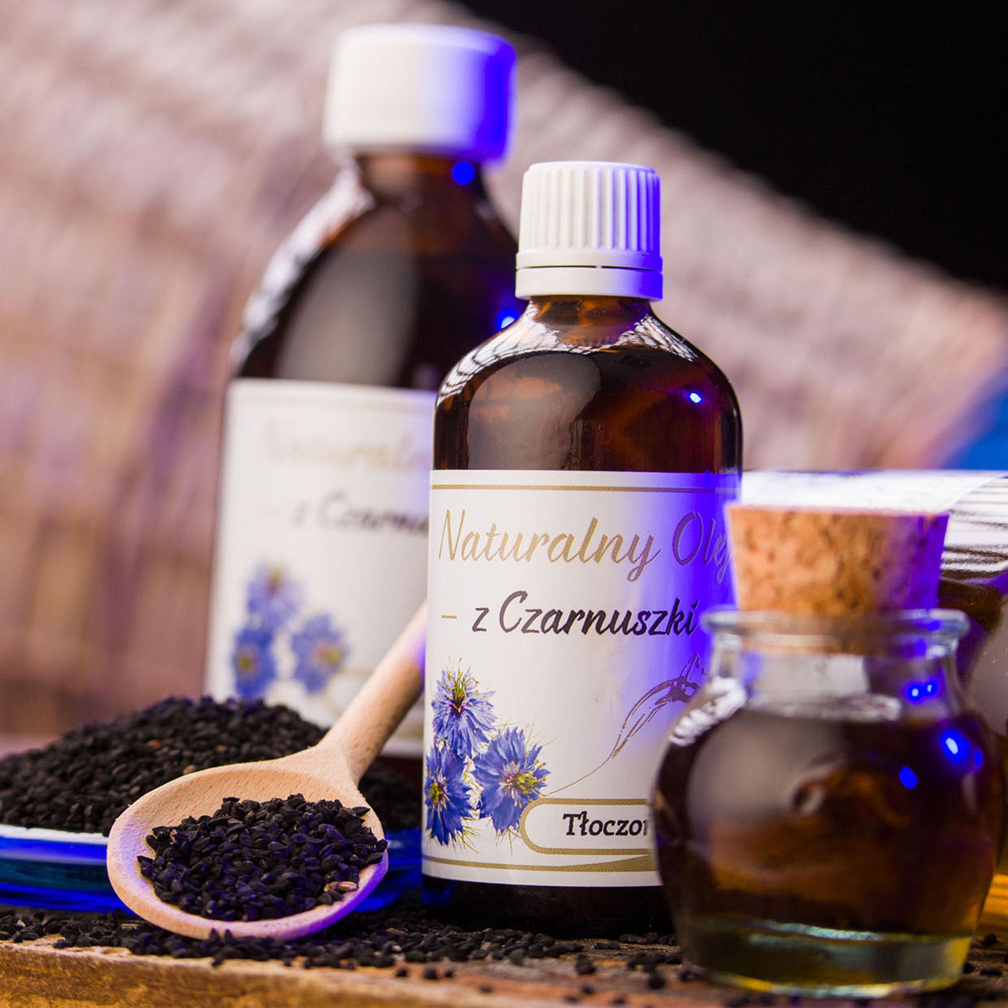 Zdjęcie reklamowe dla Miramar Sp. z o.o. - olej z czarnuszki