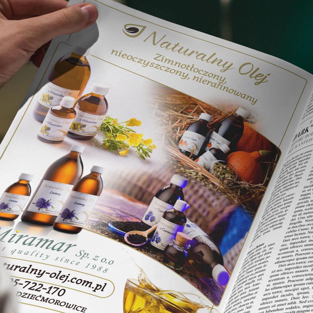 Reklama dla Miramar Sp. z o.o. - reklama prasowa